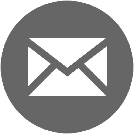 mail icon grijs