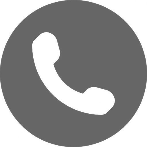 phone icon grijs
